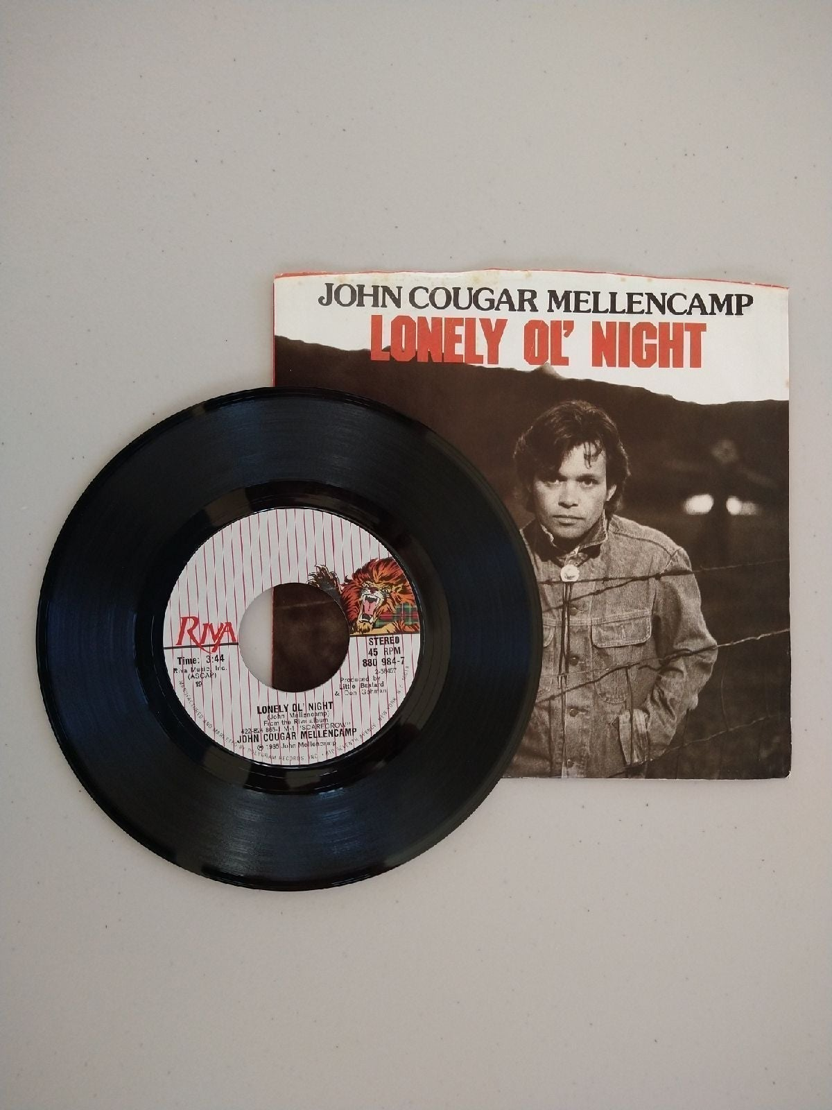 John Cougar Mellancamp Singles Collectio