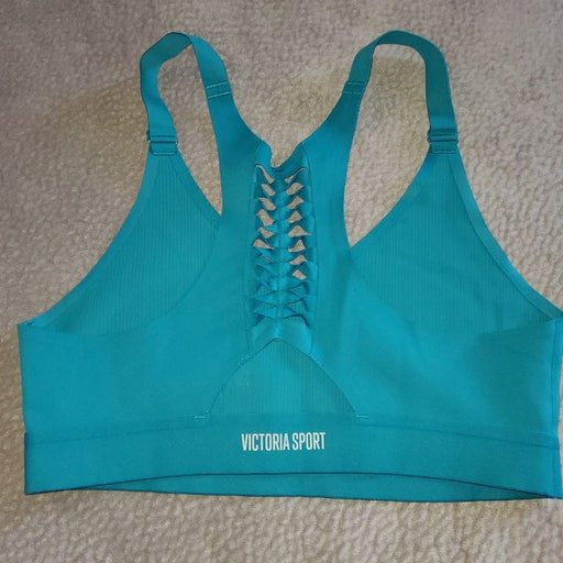Victoria sport teal sports bra medium