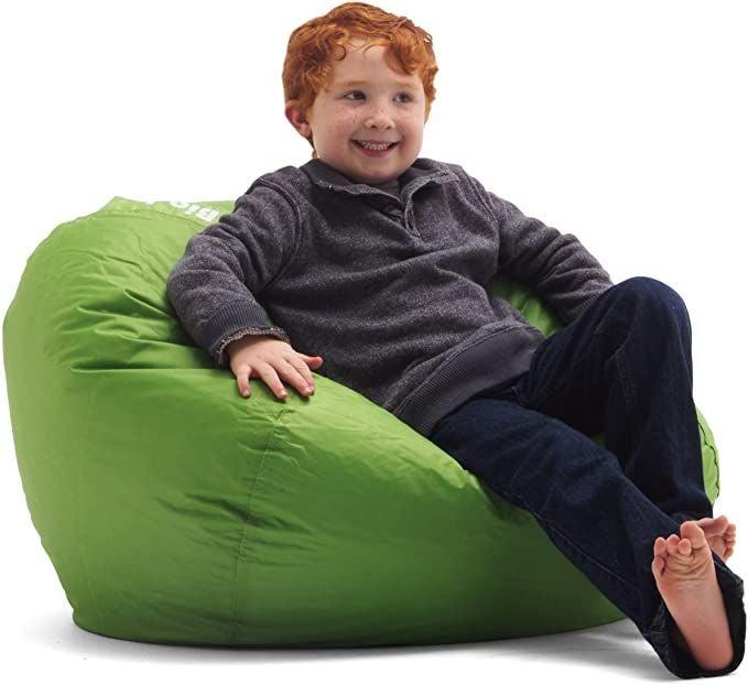 """Classic Bean Bag Chair, 33""""L x 33""""W x 20"""