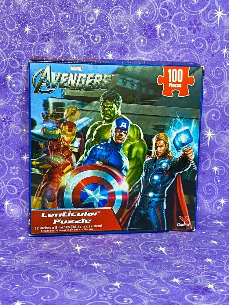 Avengers Lenticular Puzzle
