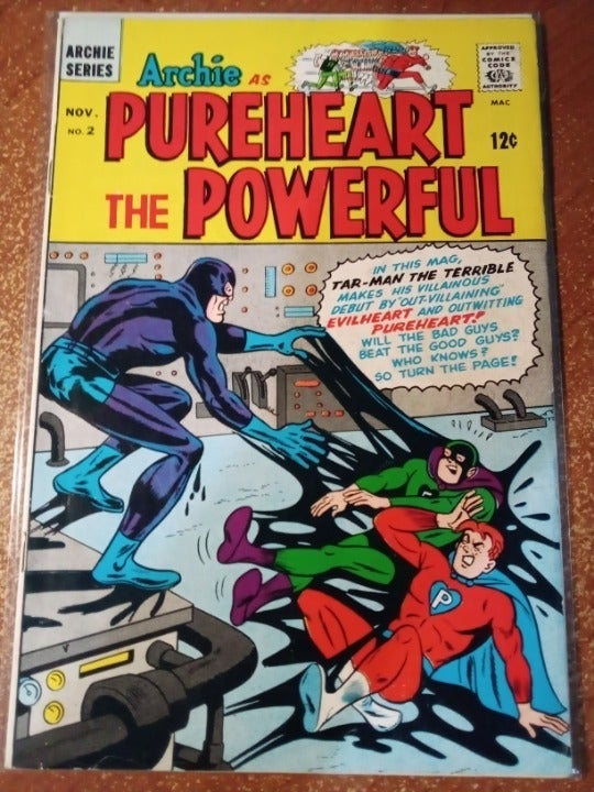 Archie as Purpleheart the Powerful 2 VF
