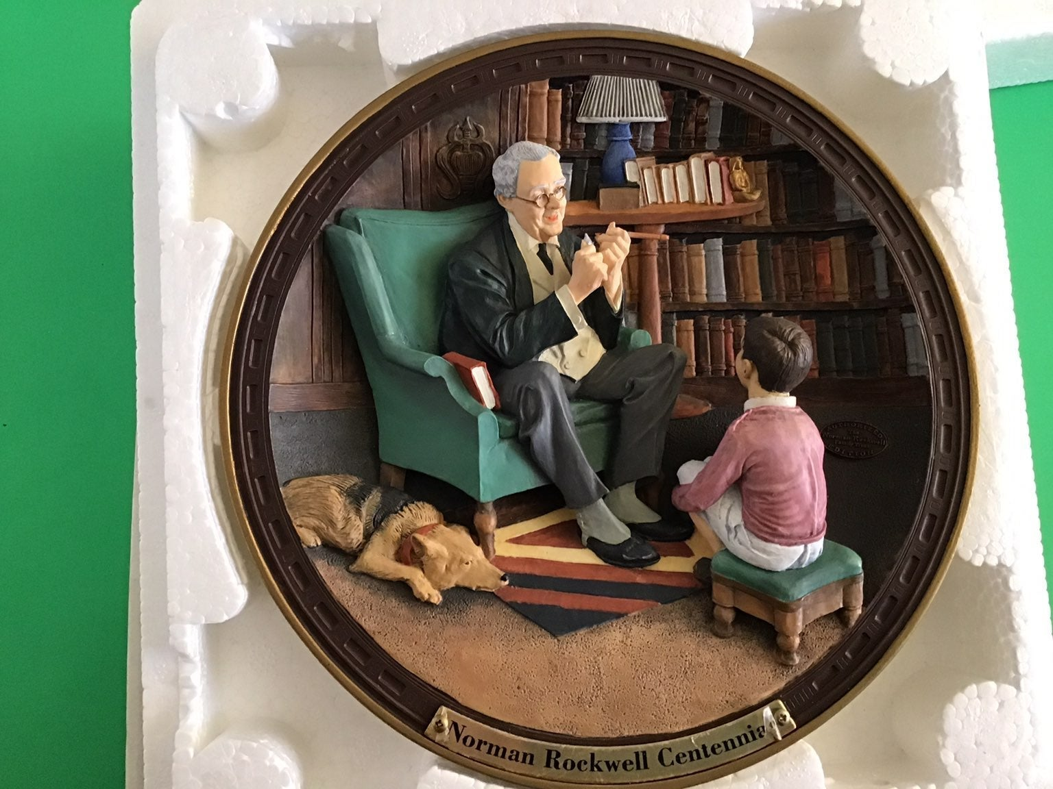 Norman Rockwell Gallery 3D Plate Tycoon