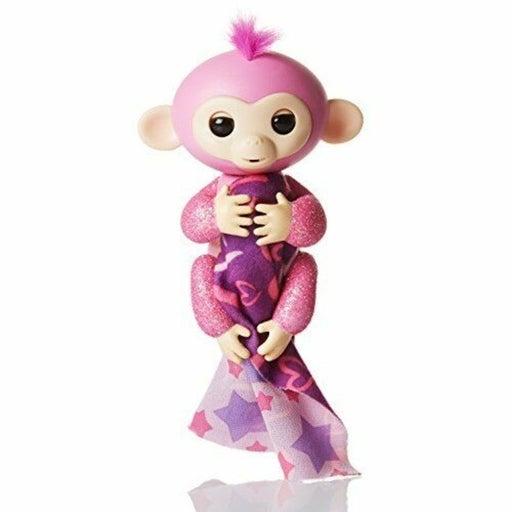 Fingerlings Glitter Monkey Rose Pink