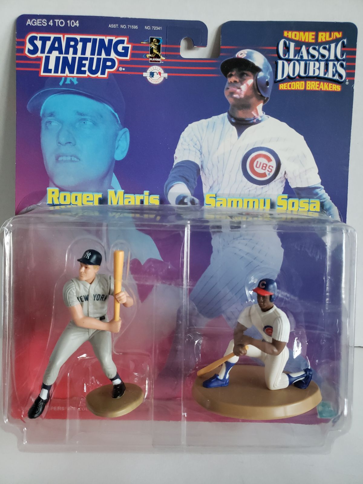 Starting Lineup Roger Maris & Sammy Sosa