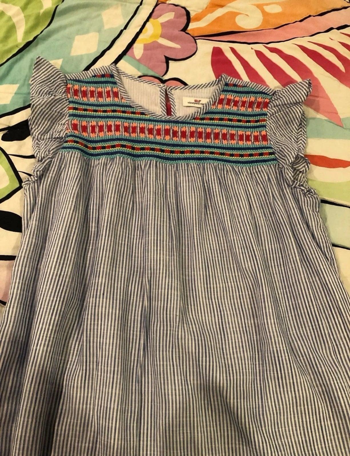 Girls Vineyard Vines dress size 14