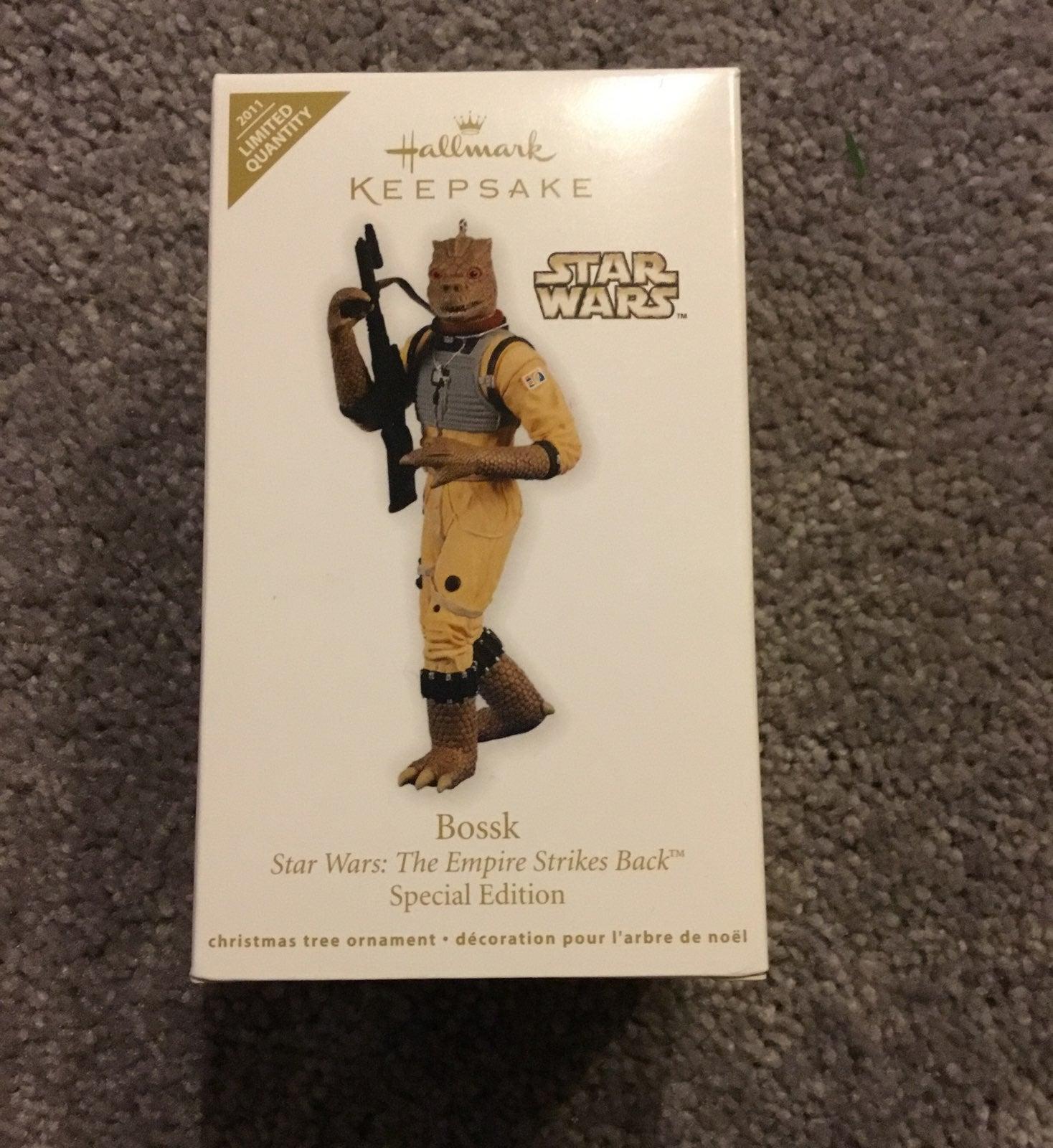 Hallmark Star Wars Ornament BOSSK
