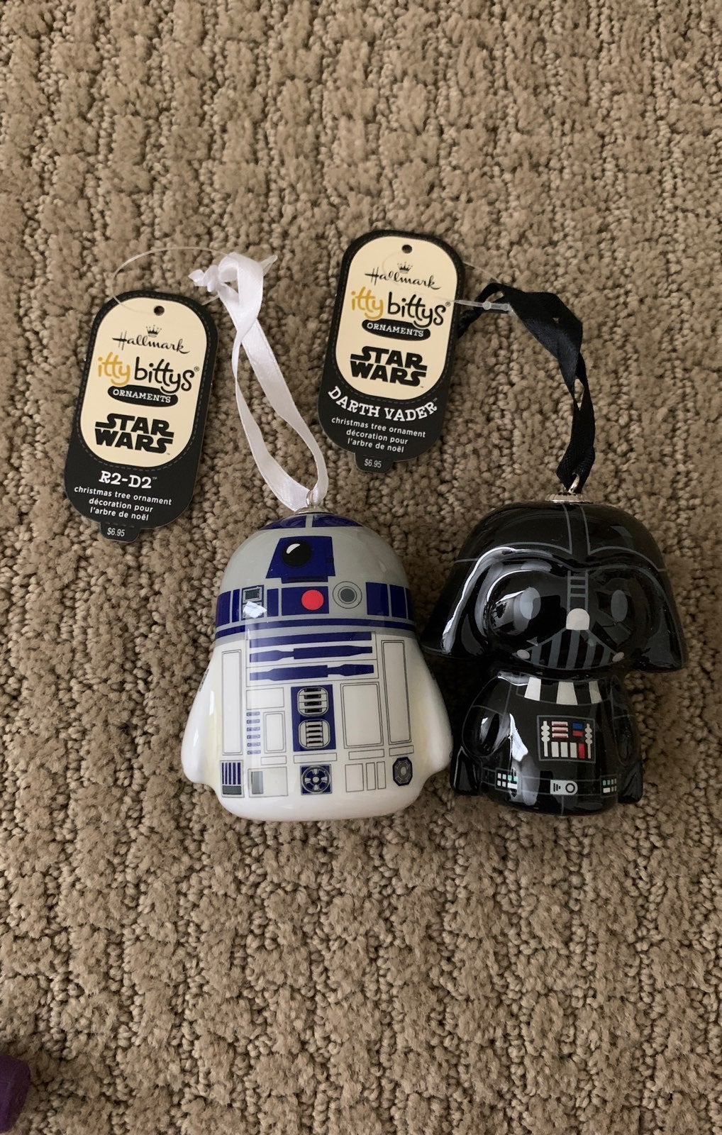 Star Wars itty bittys Ornaments