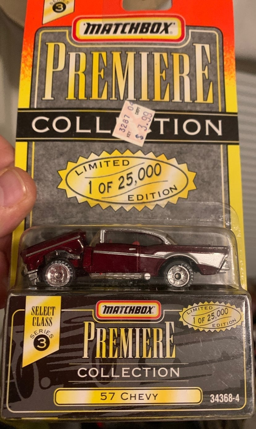 MATCHBOX PREMIER COLLECTION 57 CHEVY