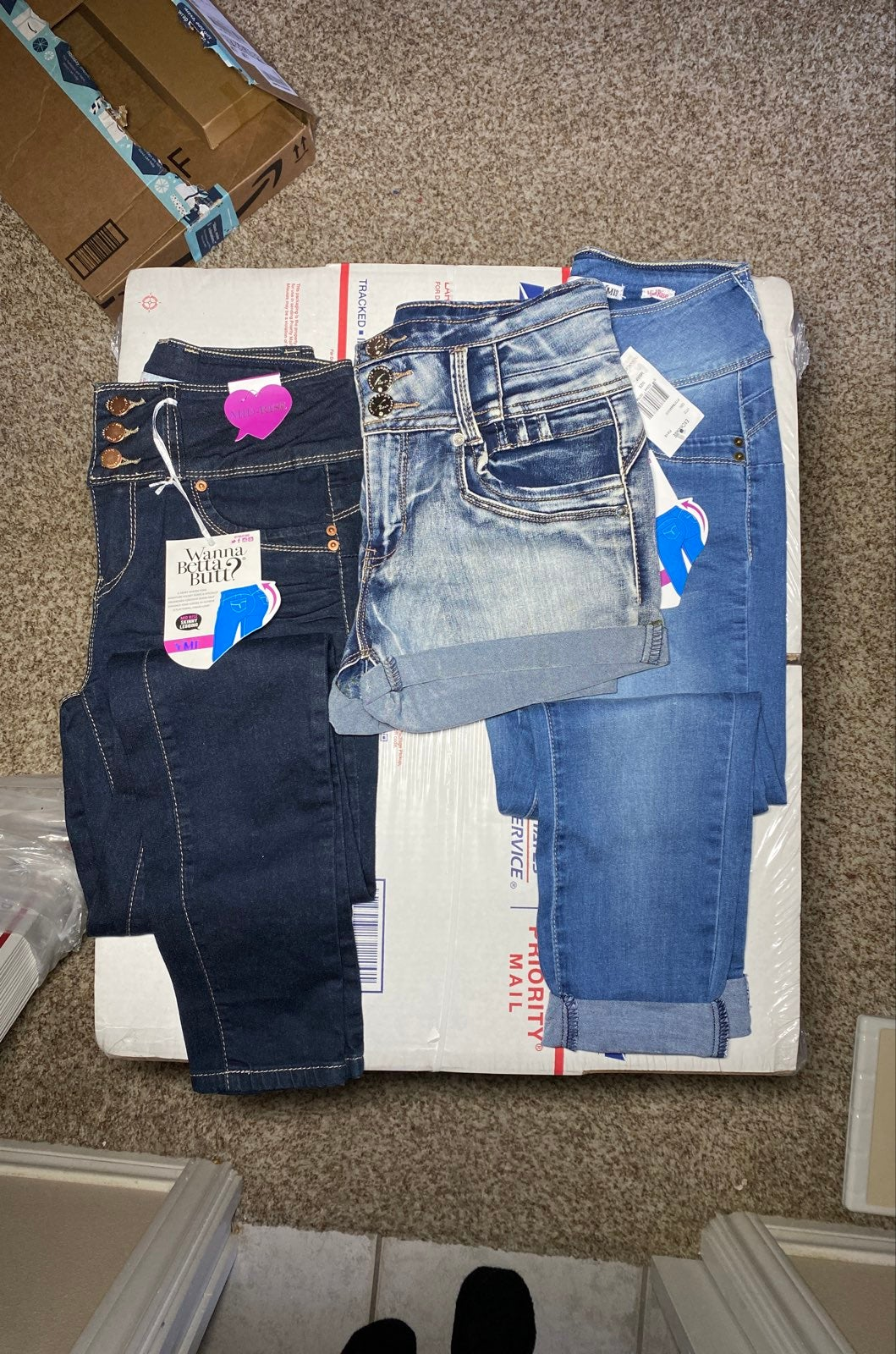 Size 3 Betta Butt Jeans/ shorts bundle