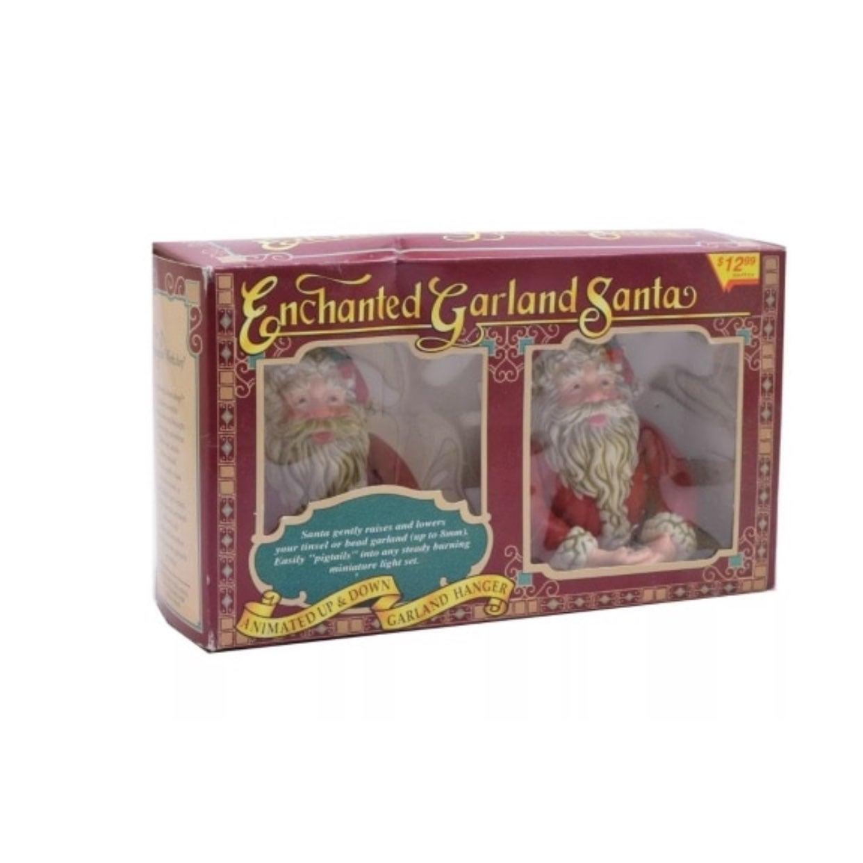 Enchanted Santa Garland
