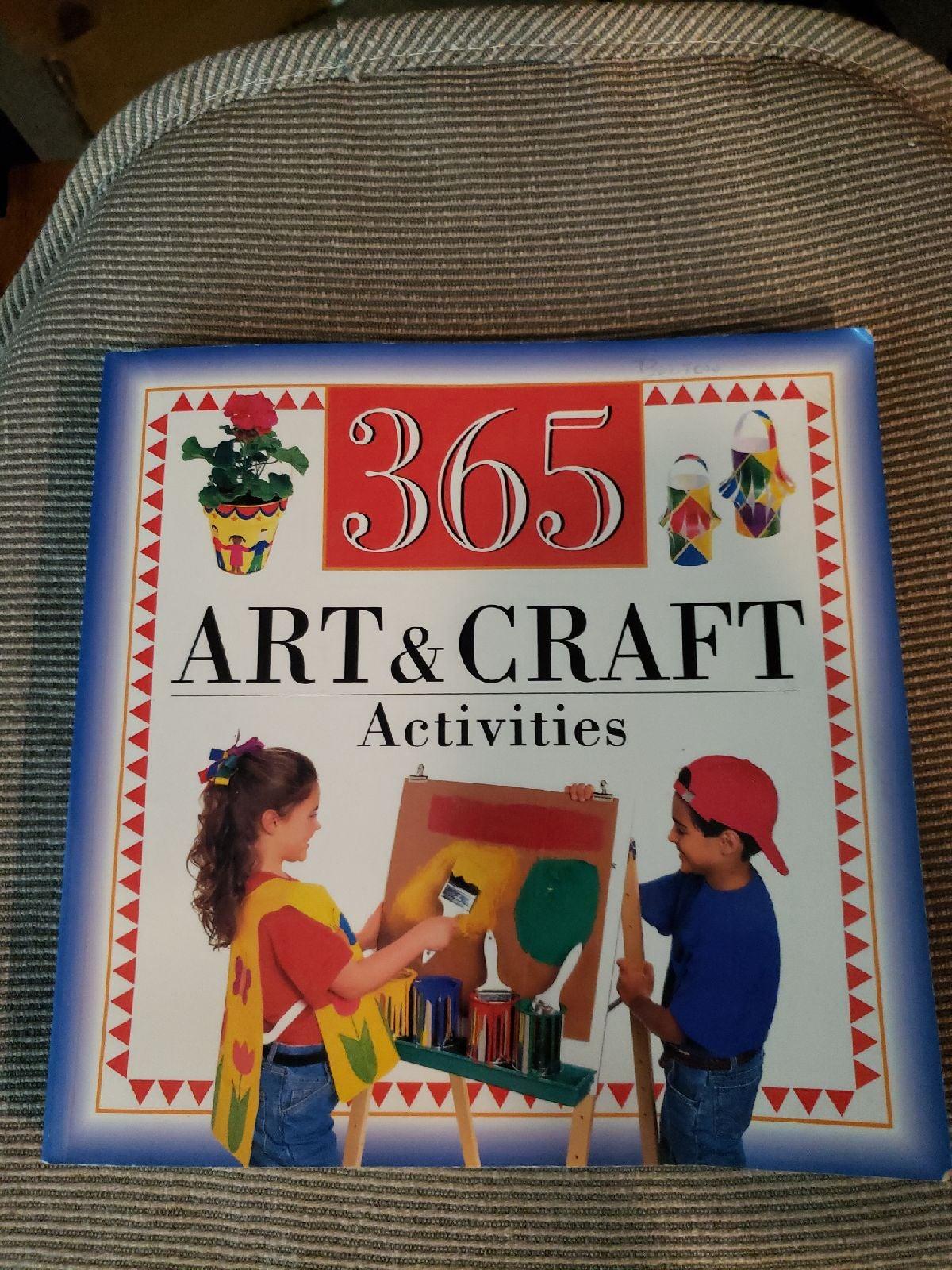 Book of 365 Art & Craft Activities for k