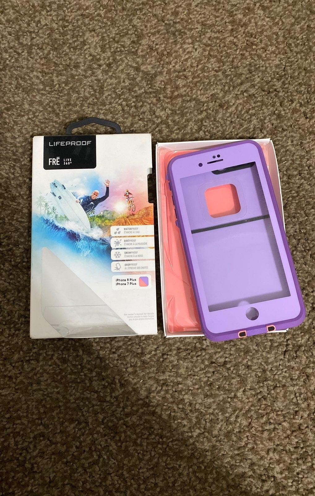 iphone 7/8 plus LifeProof case