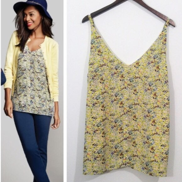 Cabi Floral Tank, Small, Adjustable