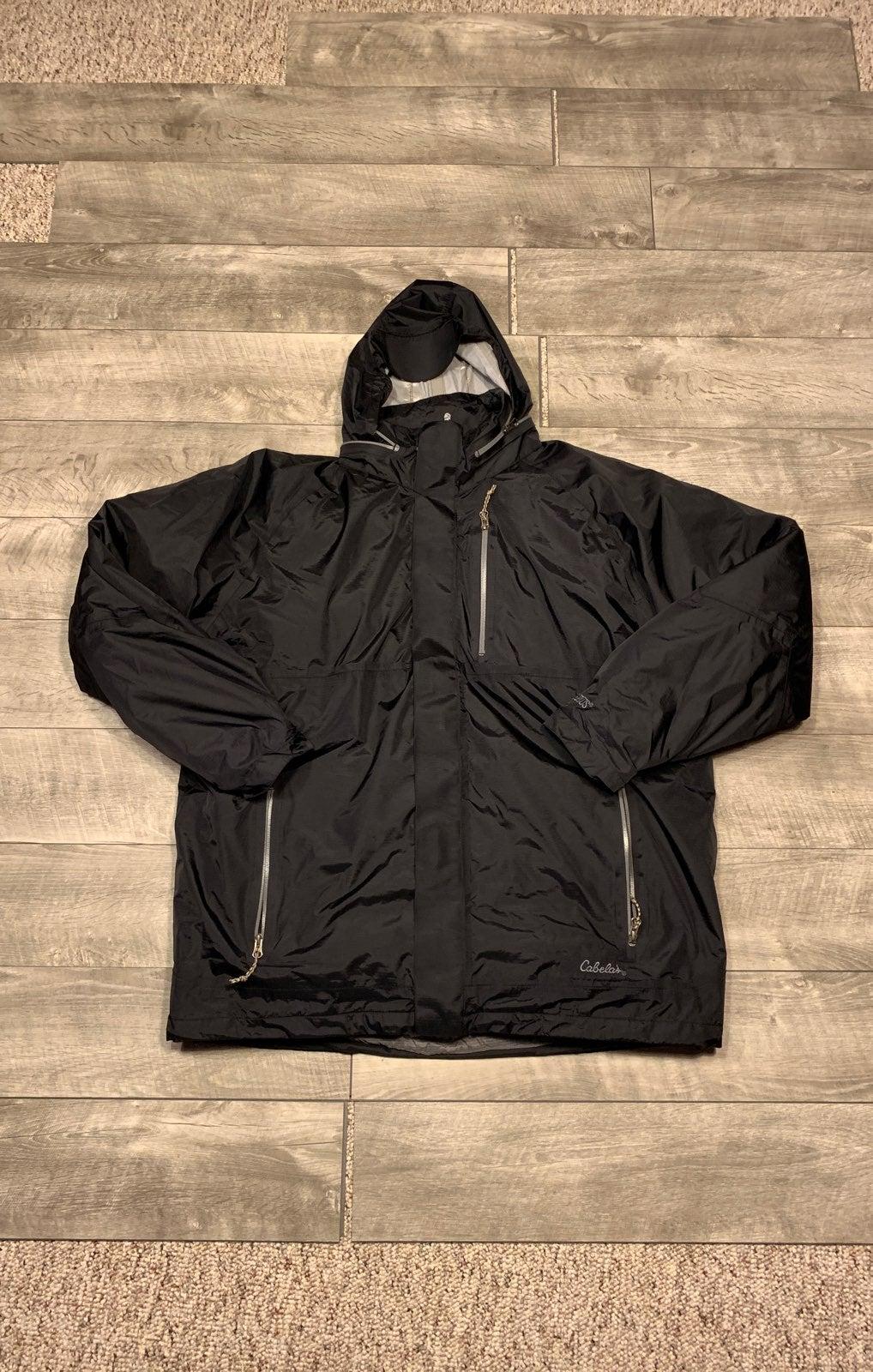 Cabela's 2-in-1 Dry Mens Parka Jacket XL