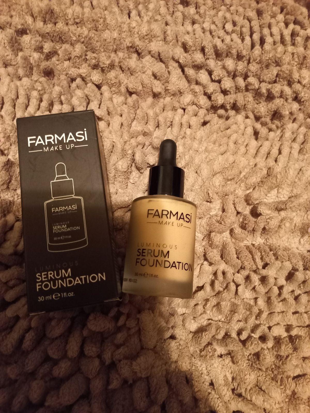 farmasi foundation serum