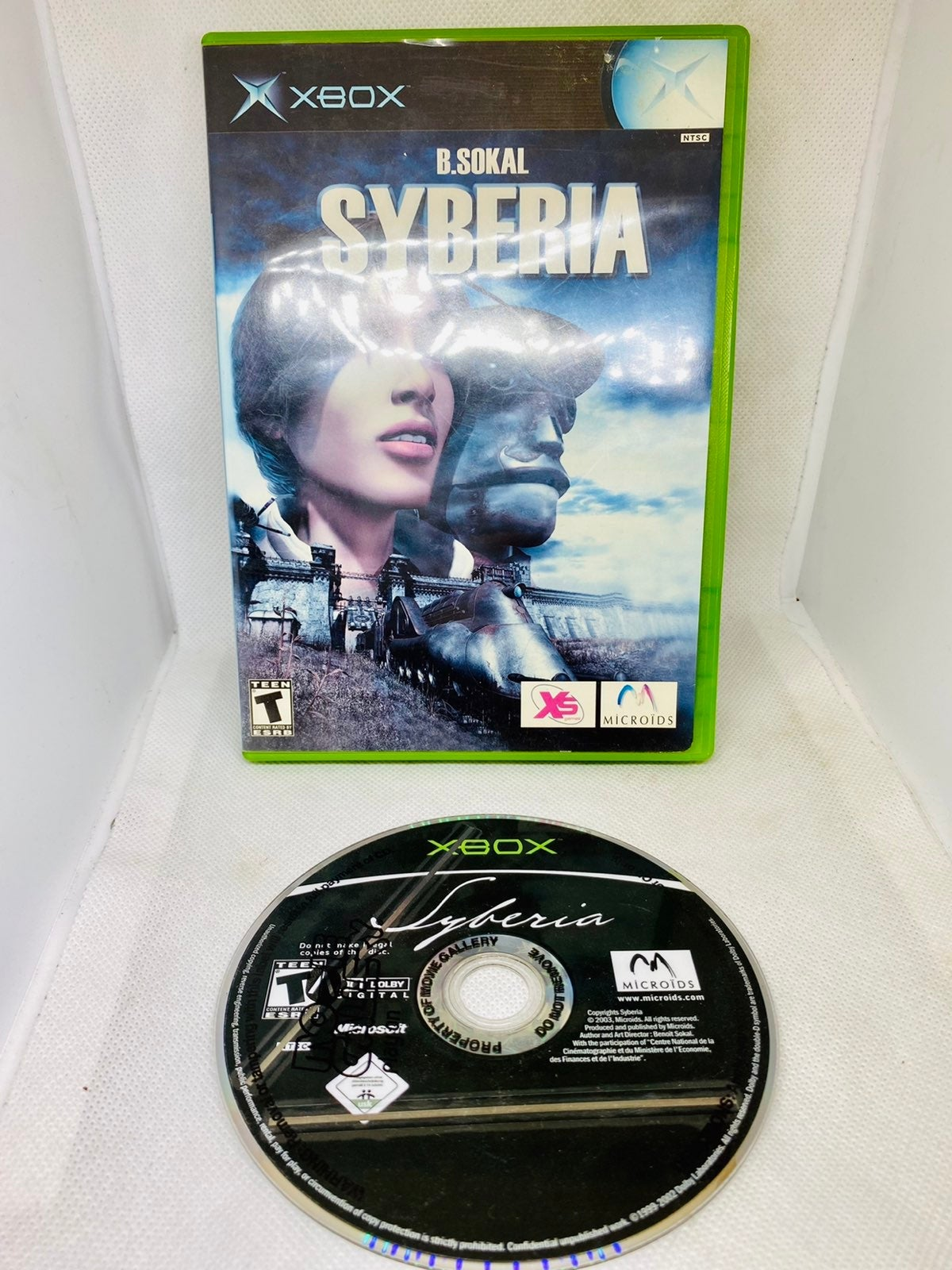 SYBERIA Original XBOX 1 Game