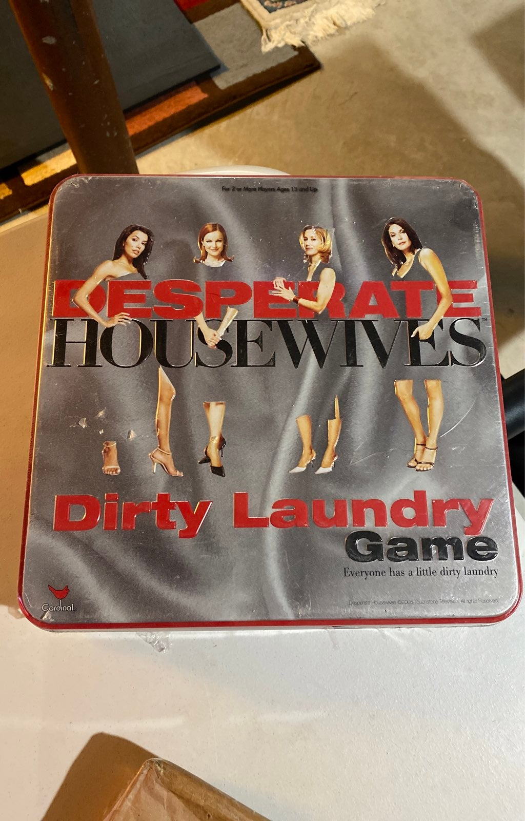 Desparate Housewives Dirty Laundry Game