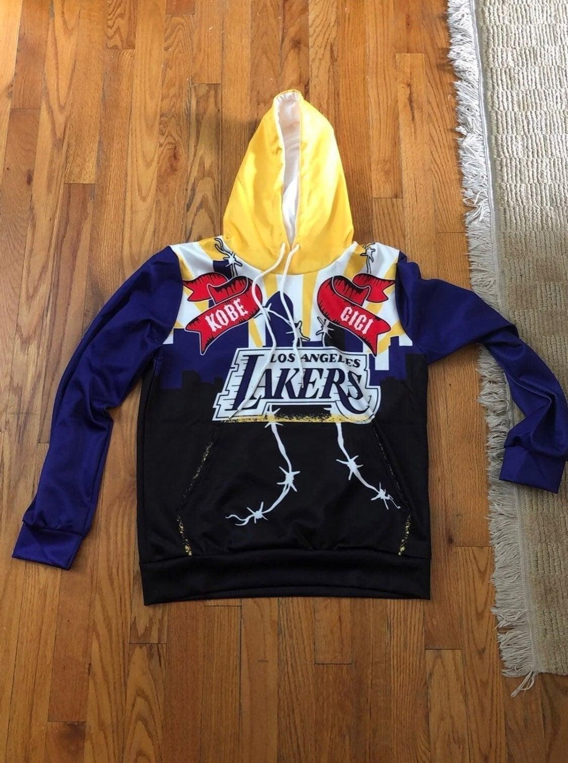 Kobe Bryant Gigi Bryant Lakers Hoodie M