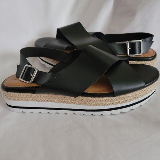 Time & True- Wedge Sandal