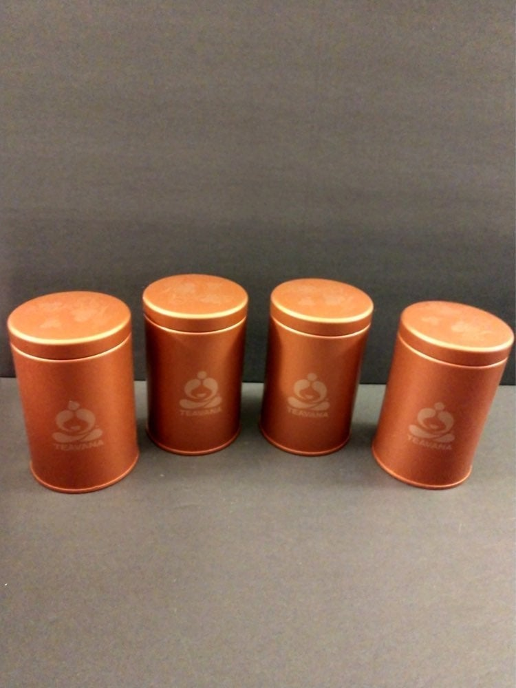 NWOT 4 Teavana Classic Style Containers