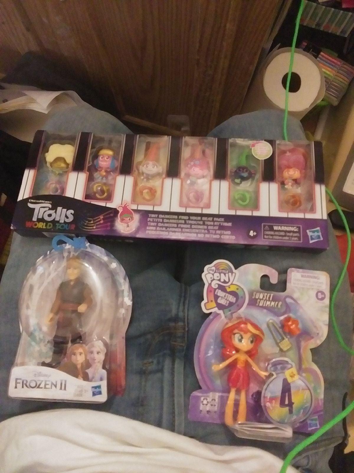 Girls Toy Bundle sets ×3
