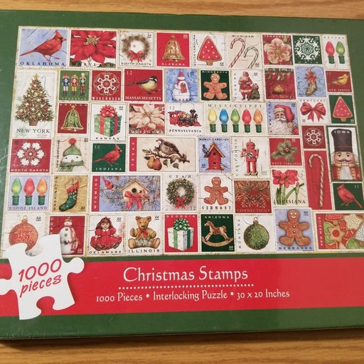 Sealed Current Christmas Stamp Puzzle