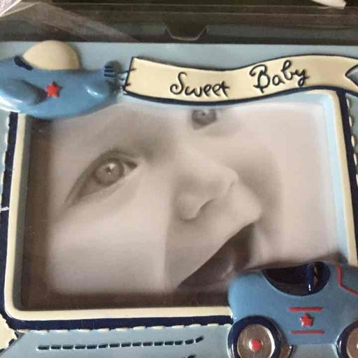 Baby Boy resin picture frame