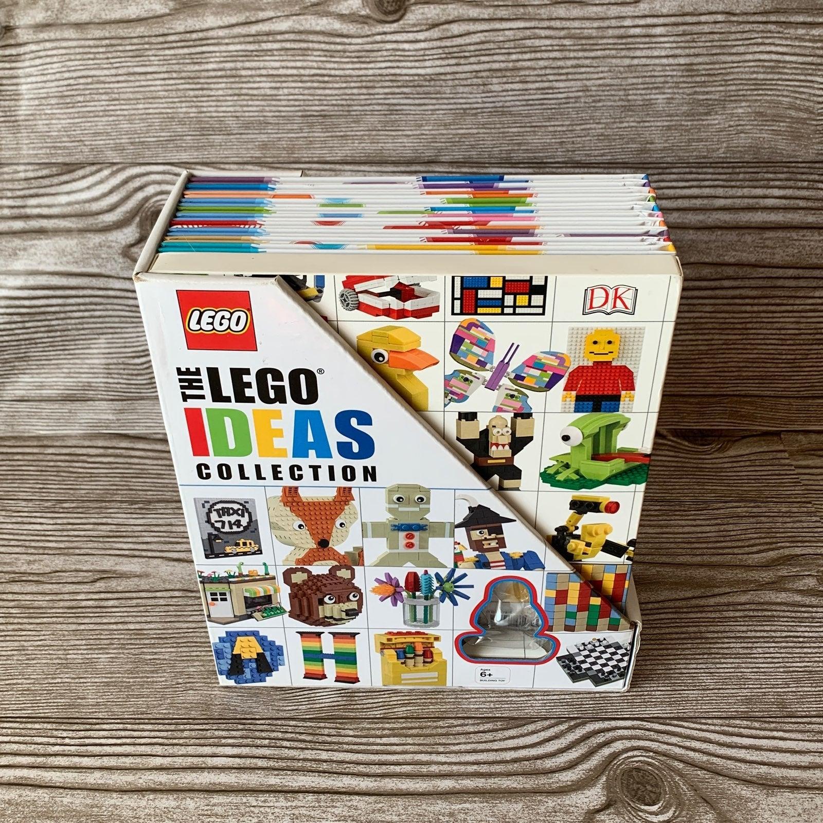 The LEGO Ideas Collection 10 book set