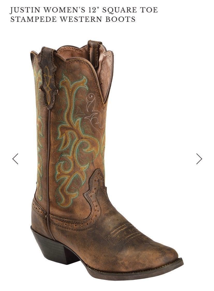 Justin boots 9.5B L2552