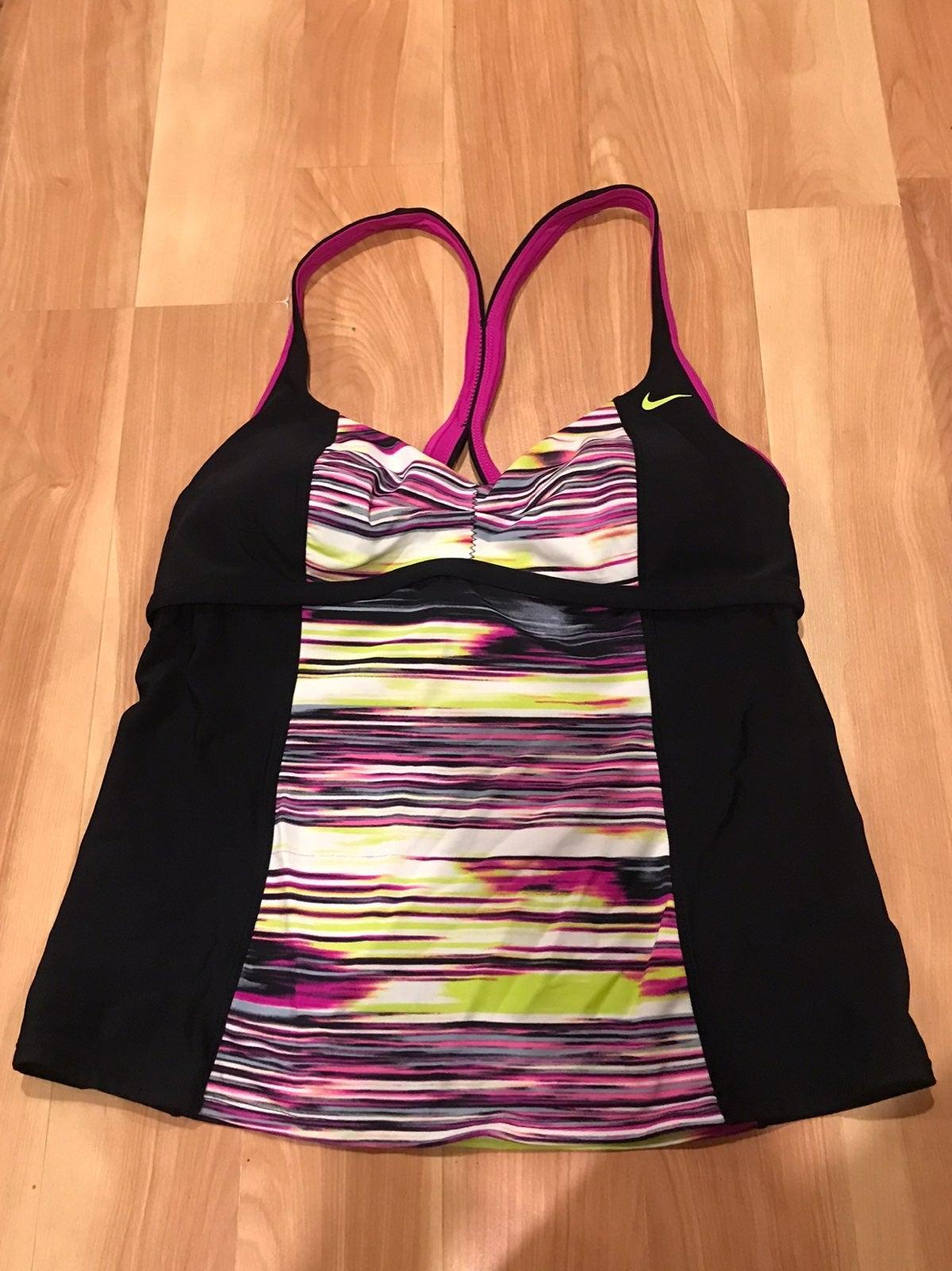 Womens Nike Tankini Top sz 14