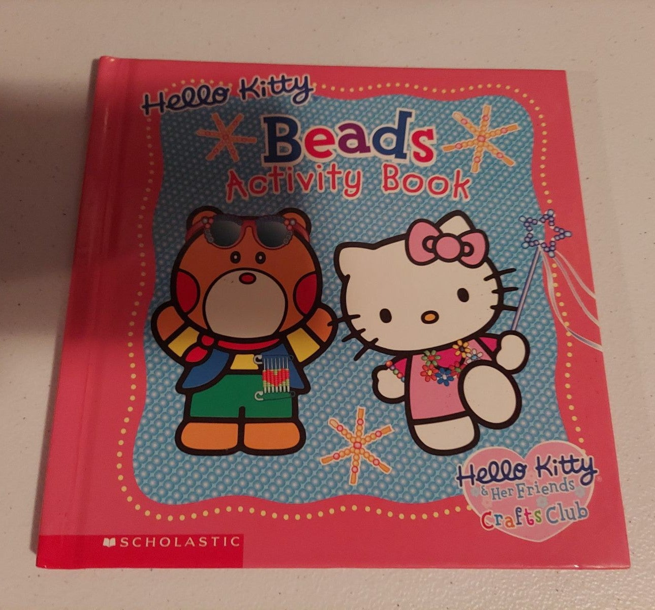 Hello Kitty Beads Activity Book