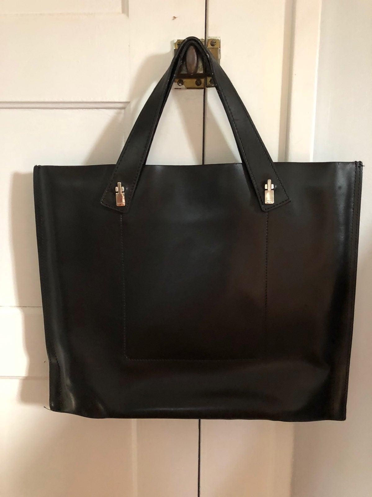 La Marthe Leather Handbag