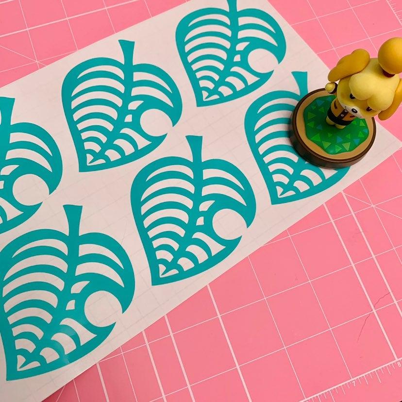 Animal Crossing New Horizons Vinyl Leaf