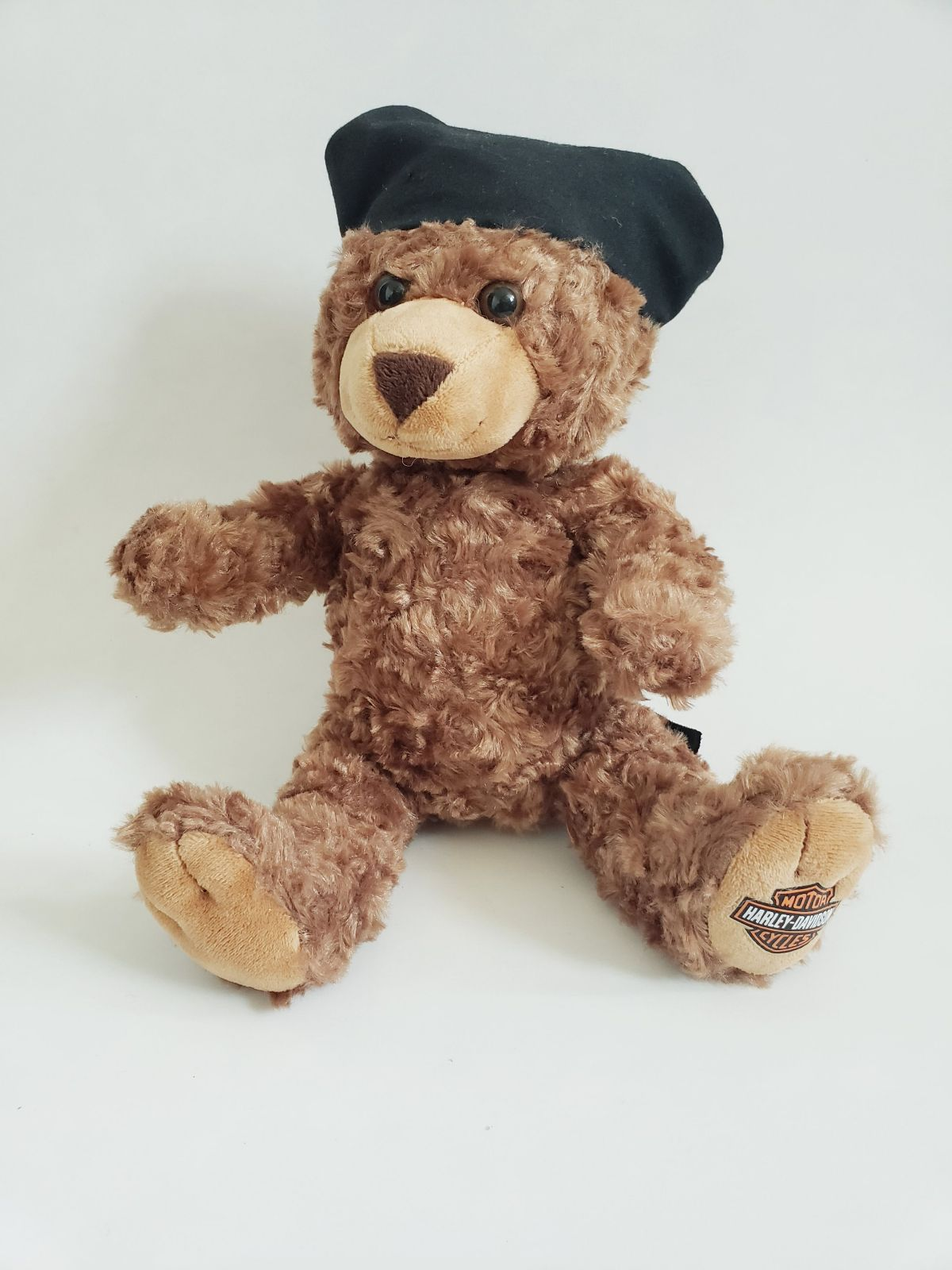 Harley Davidson stuffed teddy bear