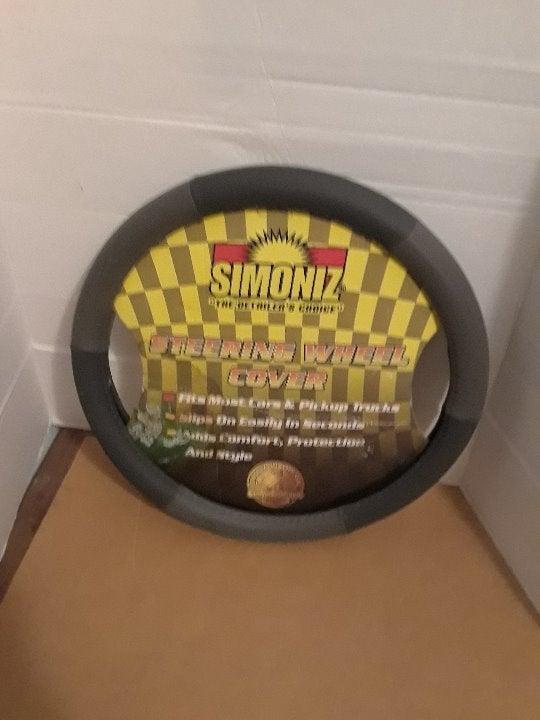 New Simoniz Car Steering Wheel Cover