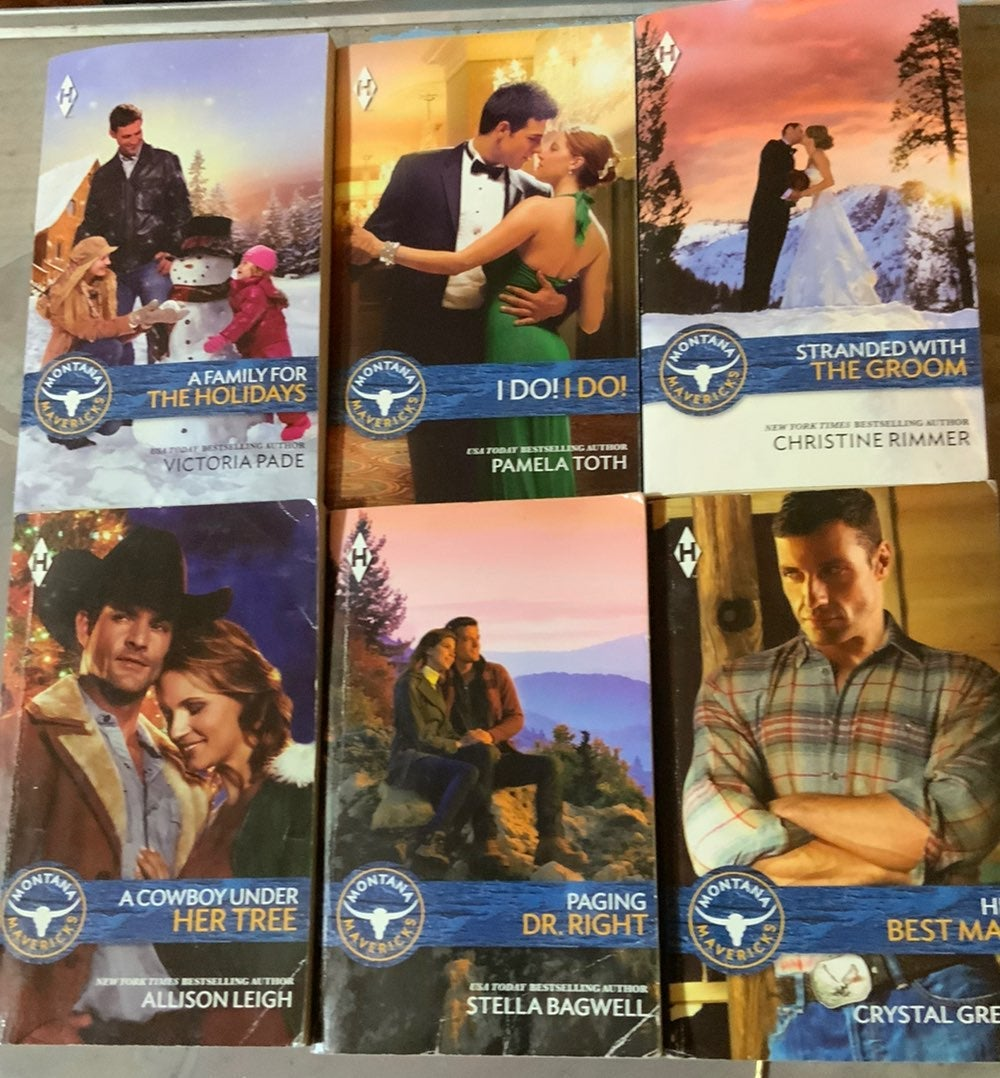 Montana Mavricks ROMANCE EDITION BOOKS N