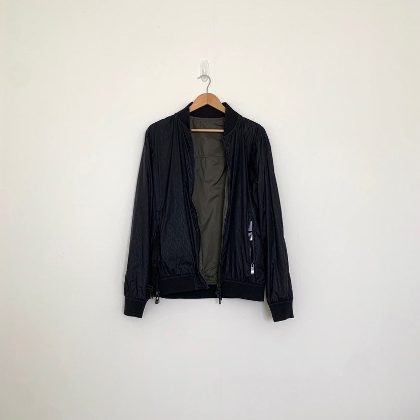 AX reversible packable bomber jacket