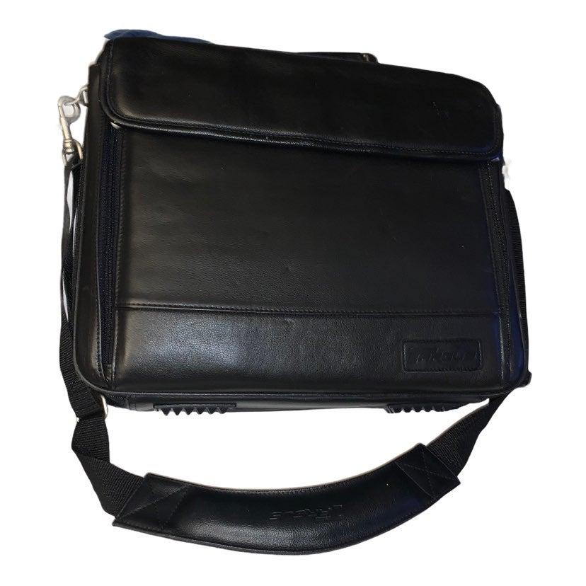 Targus briefcase laptop bag black