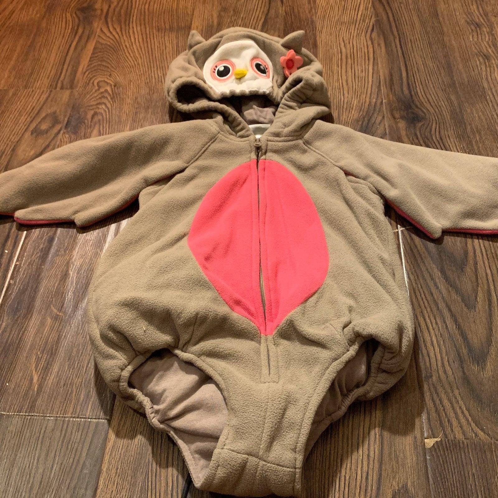 baby owl costume onesie  12/18 months