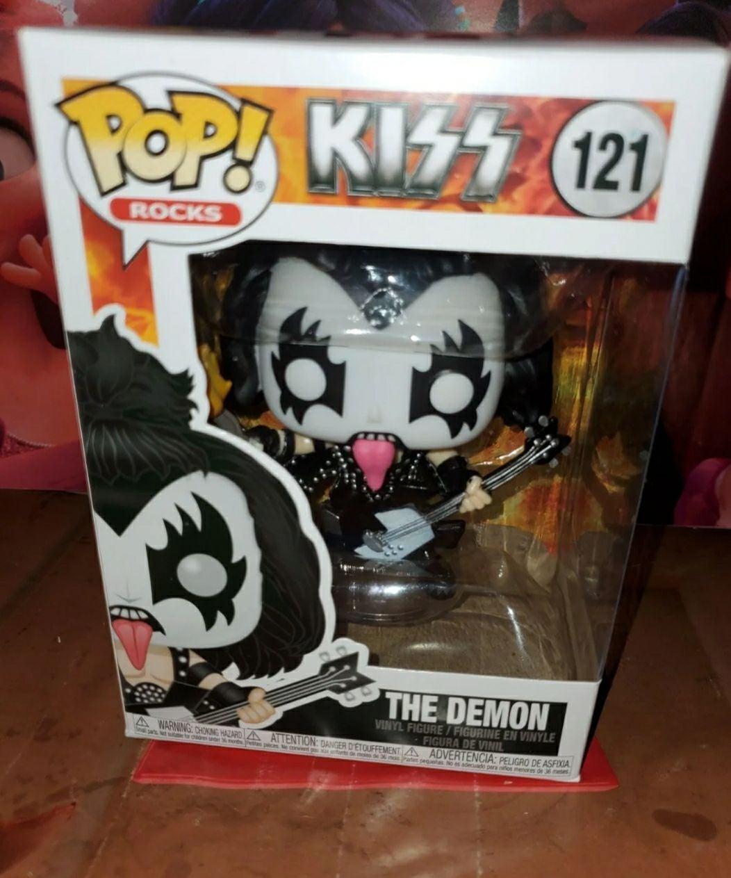 Kiss Funko Pop the demon