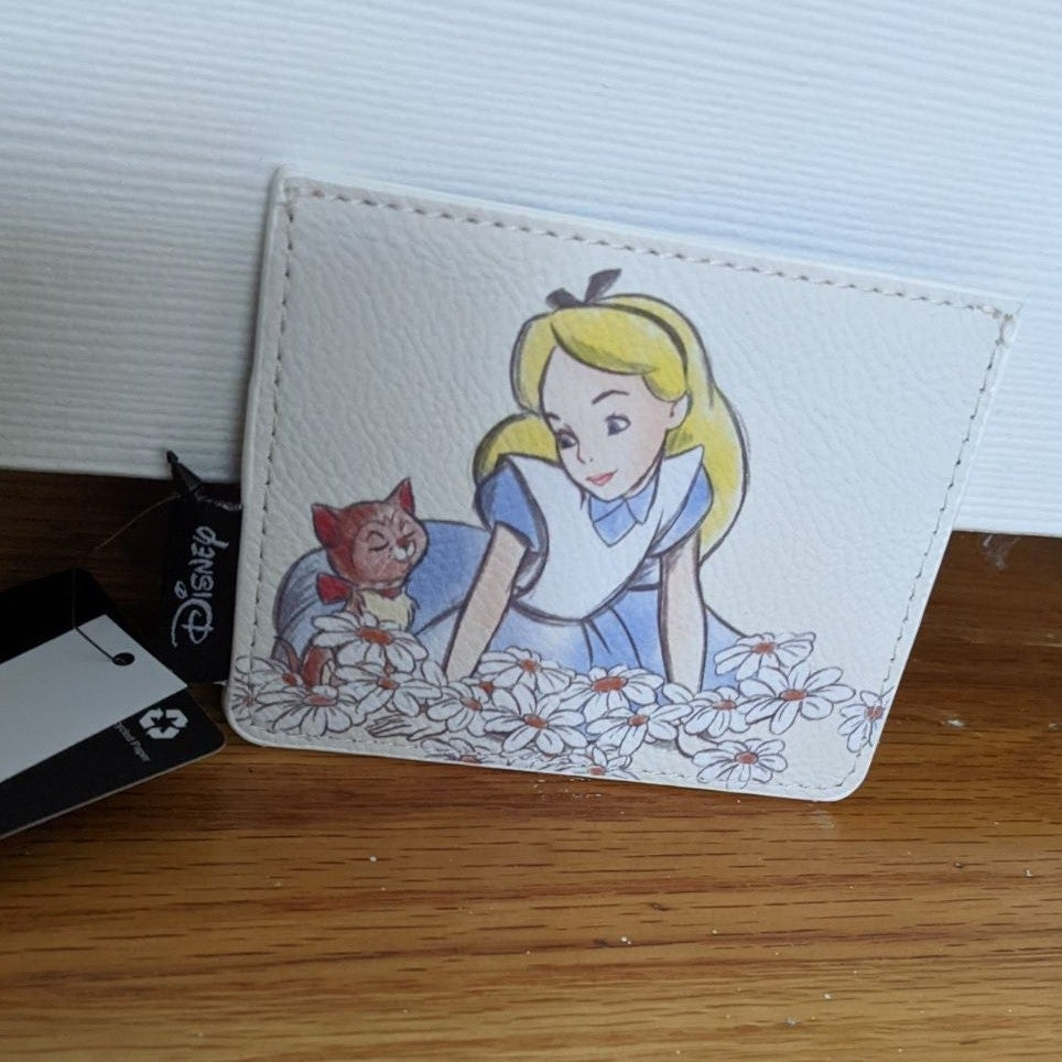 Loungefly Alice Dinah Tea Party Wallet