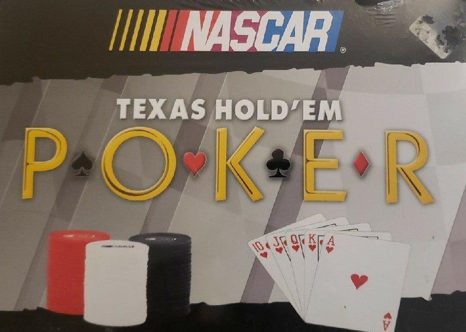 Nascar Texas Hold'em Poker Set