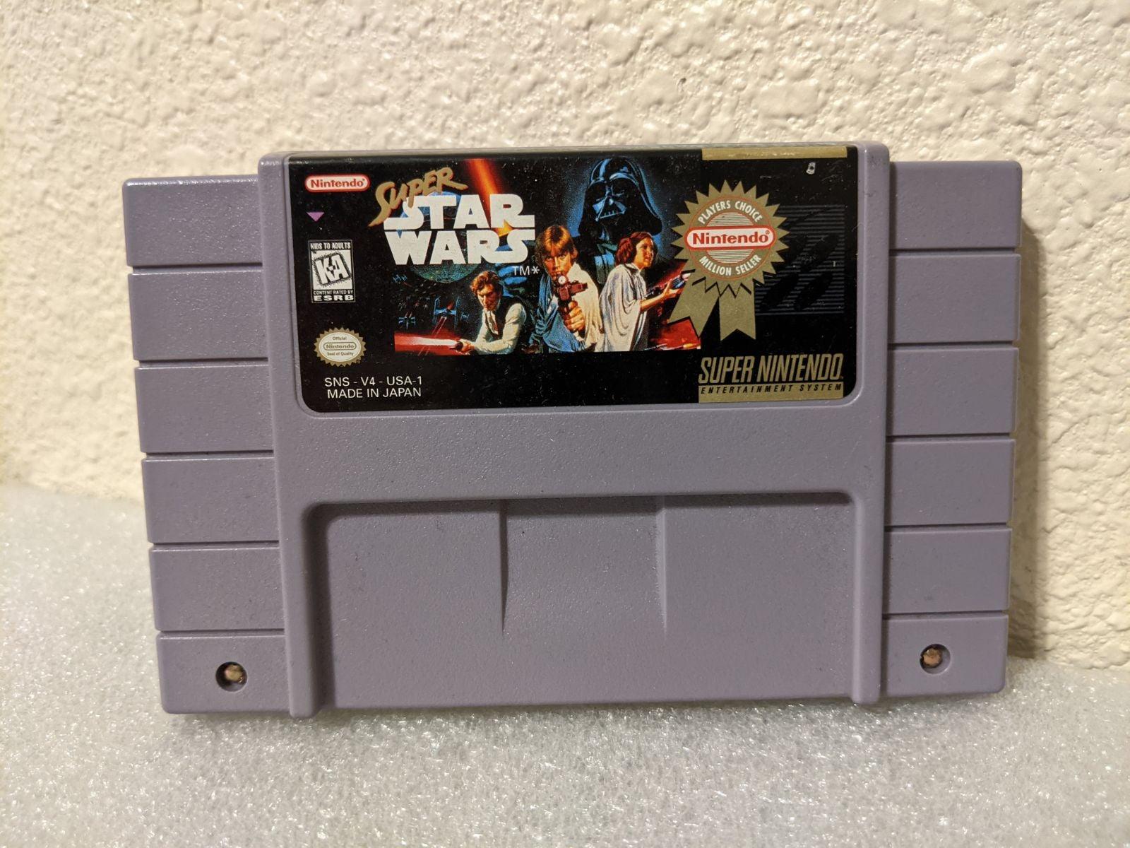 Super Star Wars on Nintendo Super NES