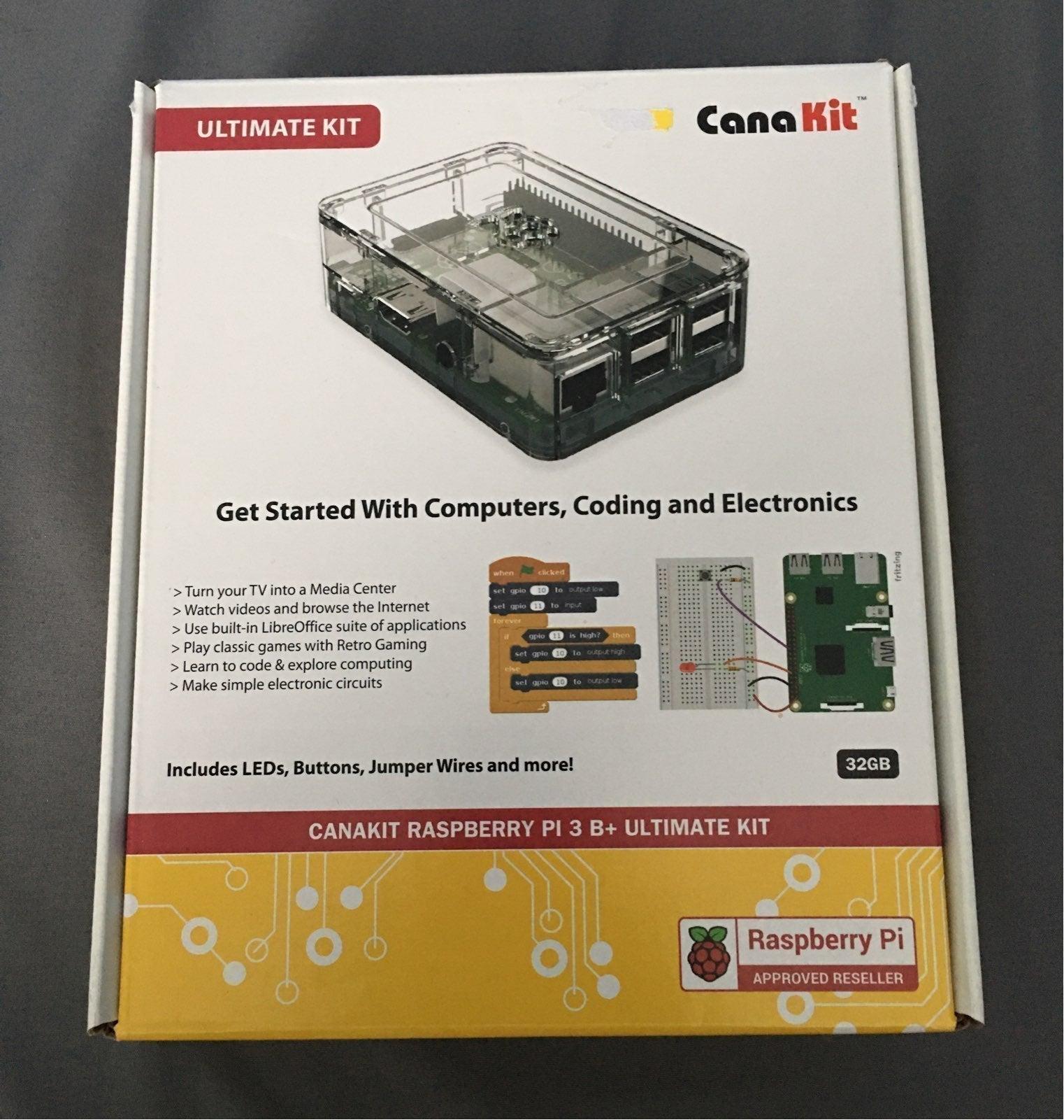 Canakit Raspberry PI 3 B+ ultimate kit