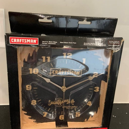 Craftsman garage clock