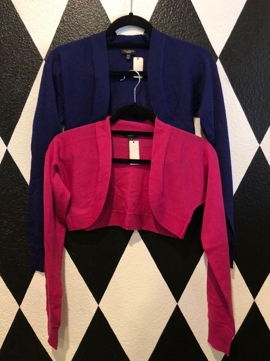 Hot Pink & Purple Bolero/ Shrug