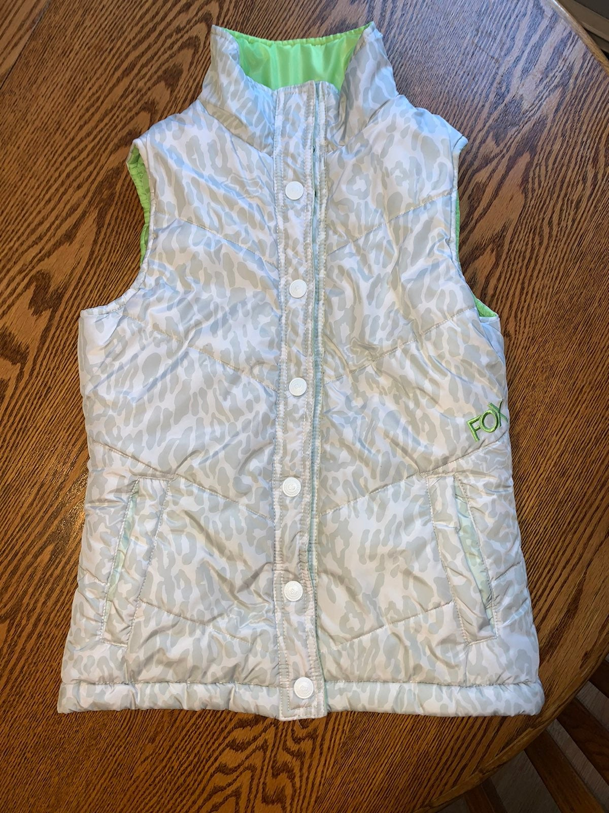 Fox Riders Company reversible vest Small