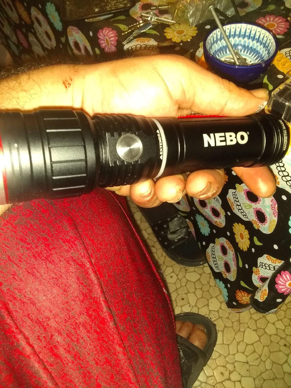 Slyde king Flashlight Nebo extension lig