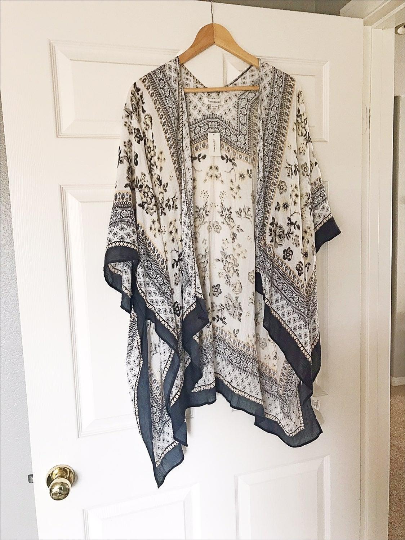 MIXED FLORAL Kimono NWT