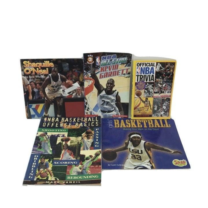 5 Non-fiction Kids Books on Basketball